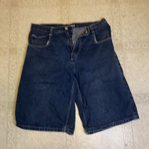 South Pole Mid Length Jean Shorts Size 34